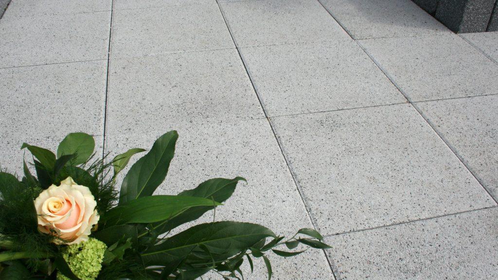 terrassenplatten beton detailaufnahme