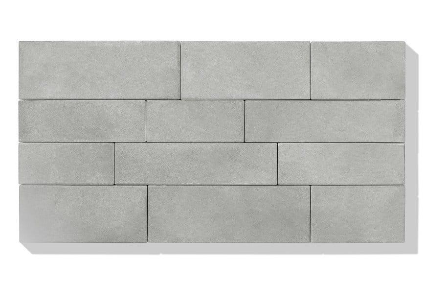 Pflasterstein beton in farbe grau