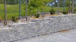gartenmauer beton grando