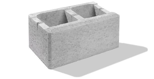 hohlsteine für gartenmauer normal