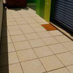 zeitlose platte für Terrasse