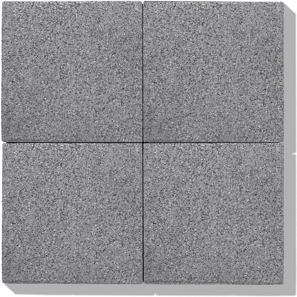 betonplatten 4 stk in farbe grau