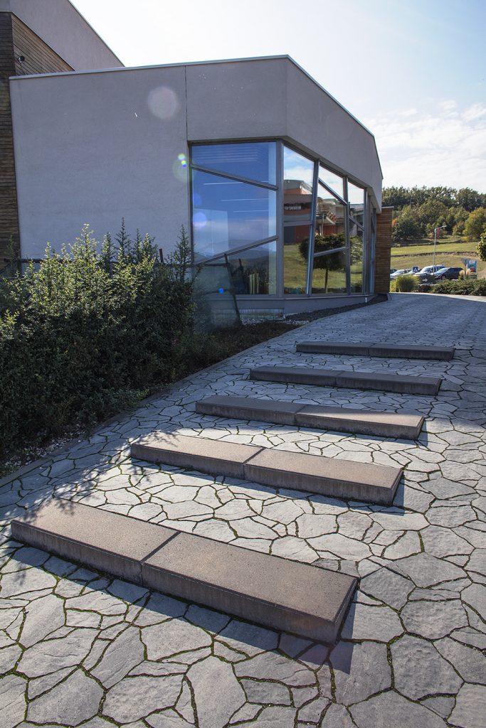 betonstufen Blok glatt