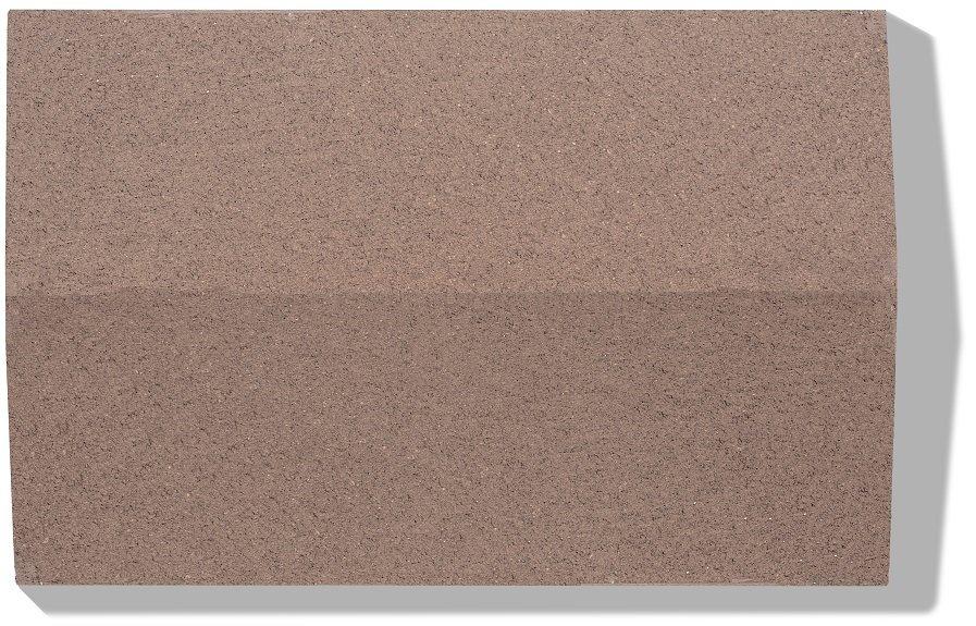 mauer abdeckplatten farbe braun glatt