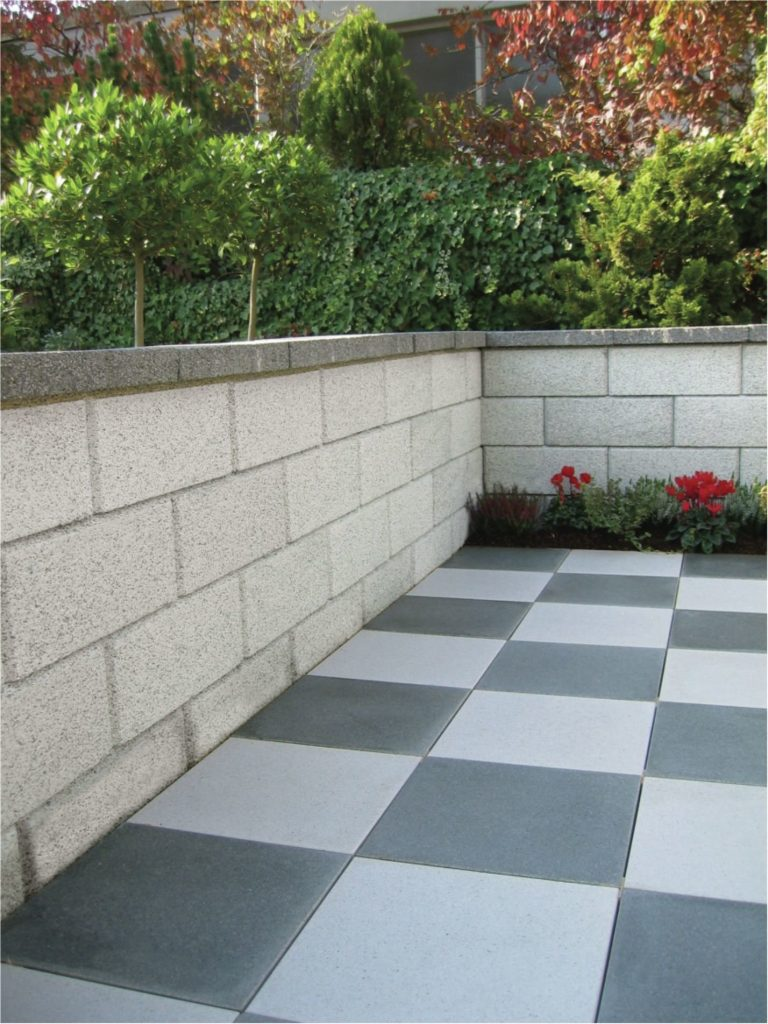 gartenmauersteine und abdeckplatten