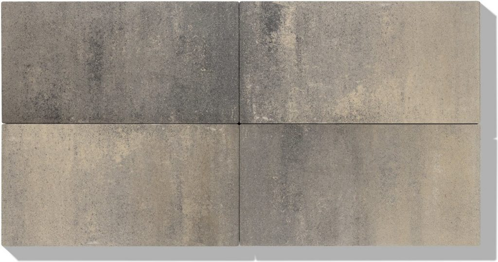 betonplatten in farbe creme