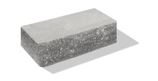 gartenmauer beton normalstein