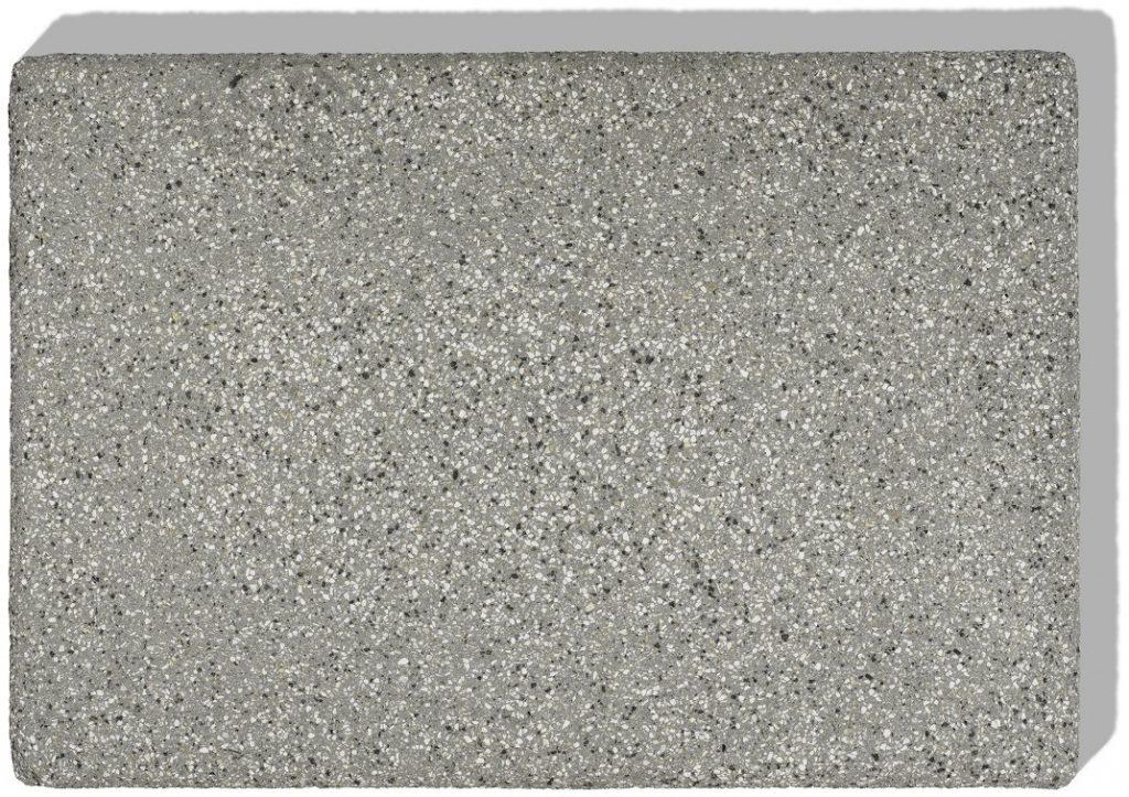 blockstufe farb muster granit grau