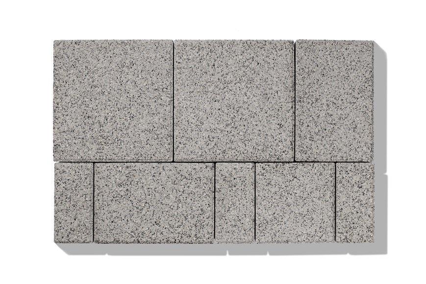 betonpflastersteine grau granit