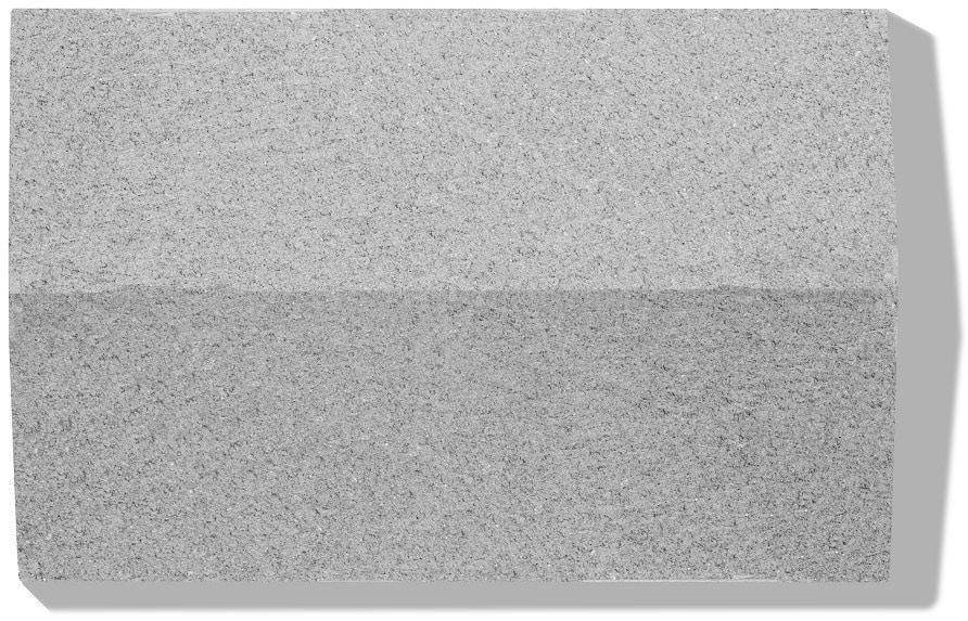 abdeckplate in farbe grau und oberfläche glatt