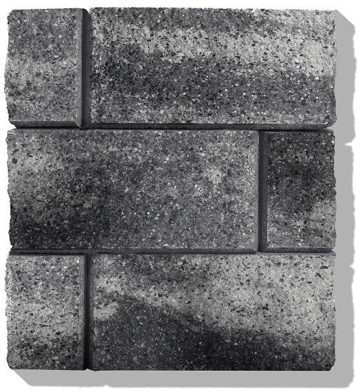 gartenmauer verkleiden farbe grau anthrazit