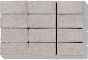 Klasiko Stein in der Farbe grau