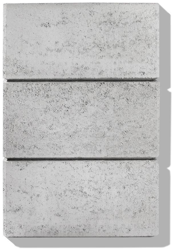 hohlsteine für gartenmauer detail farbe grau