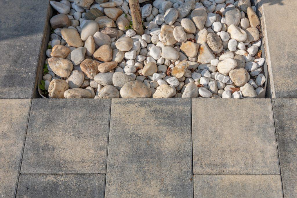detail ansicht betonplatte
