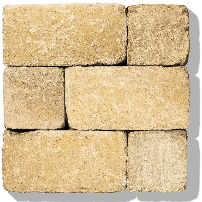 stein für gartenmauer farbe ocker