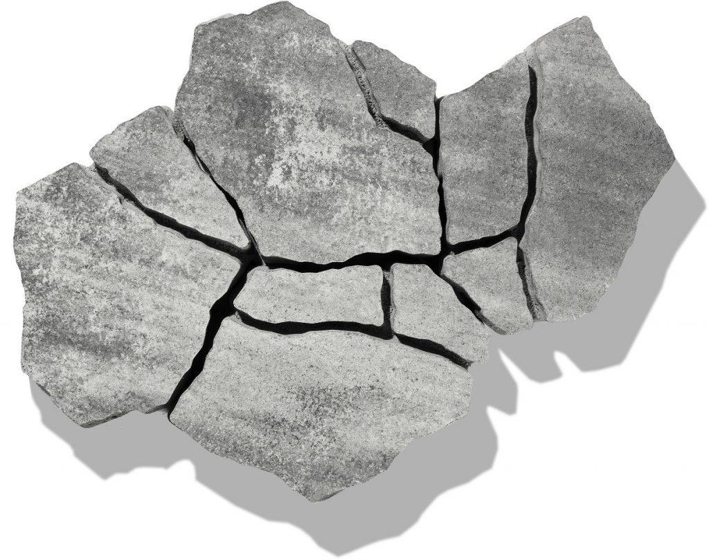 terrassen pflaster in farbe grau anthrazit