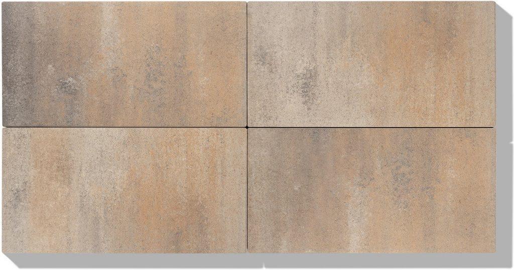 betonplatten in farbe sandbeige