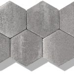 Sechseck Pflaster grau anthrazit
