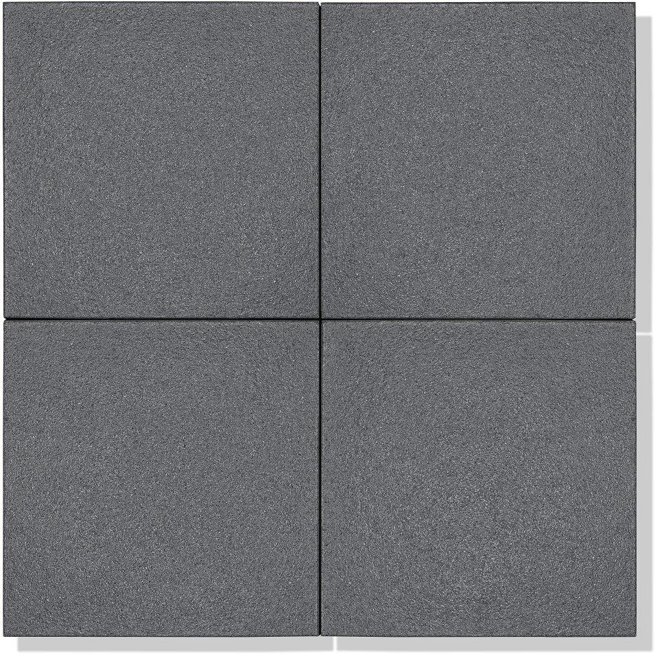 4 platten aus beton in farbe tanzanit