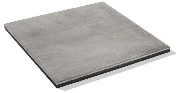 hellgraue Terrassenplatte
