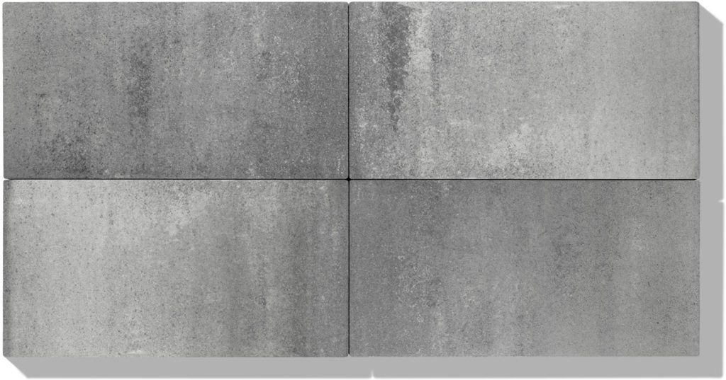 4 platten aus beton in farbe grau anthrazit