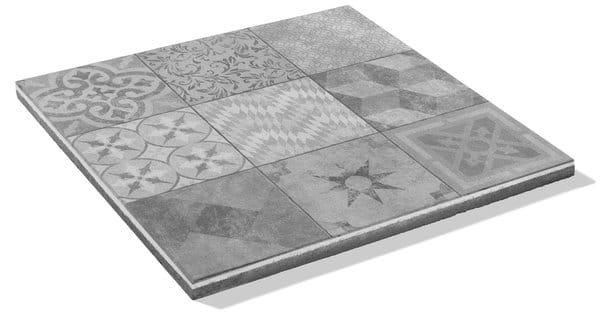 betonplatte bestehen aus 9 verschiedenen Motiven