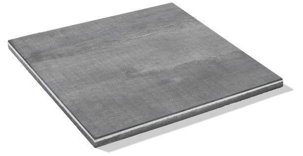 dunklegraue Platte mit einer Stärke von 3 cm