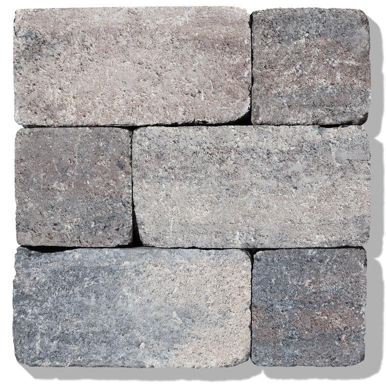 farbe muschelkalk granumblok steine gartenmauer